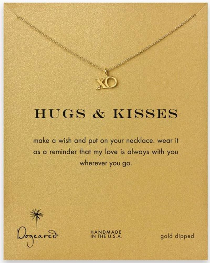 Dogeared Hugs and Kisses Necklace