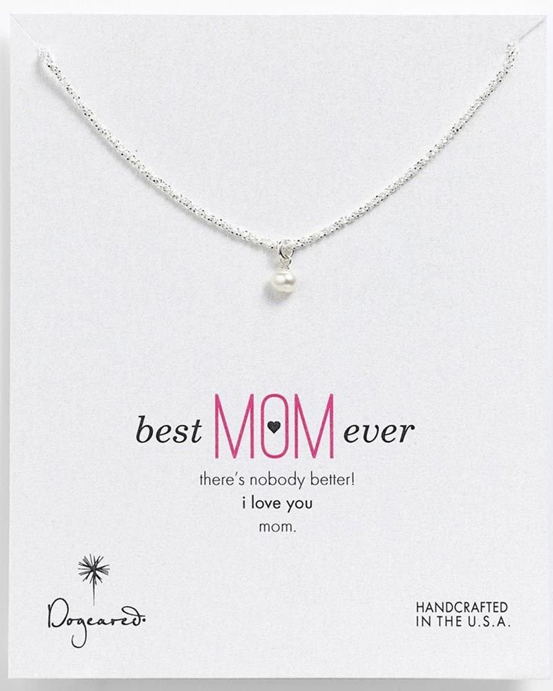 Dogeared Best Mom Ever Necklace