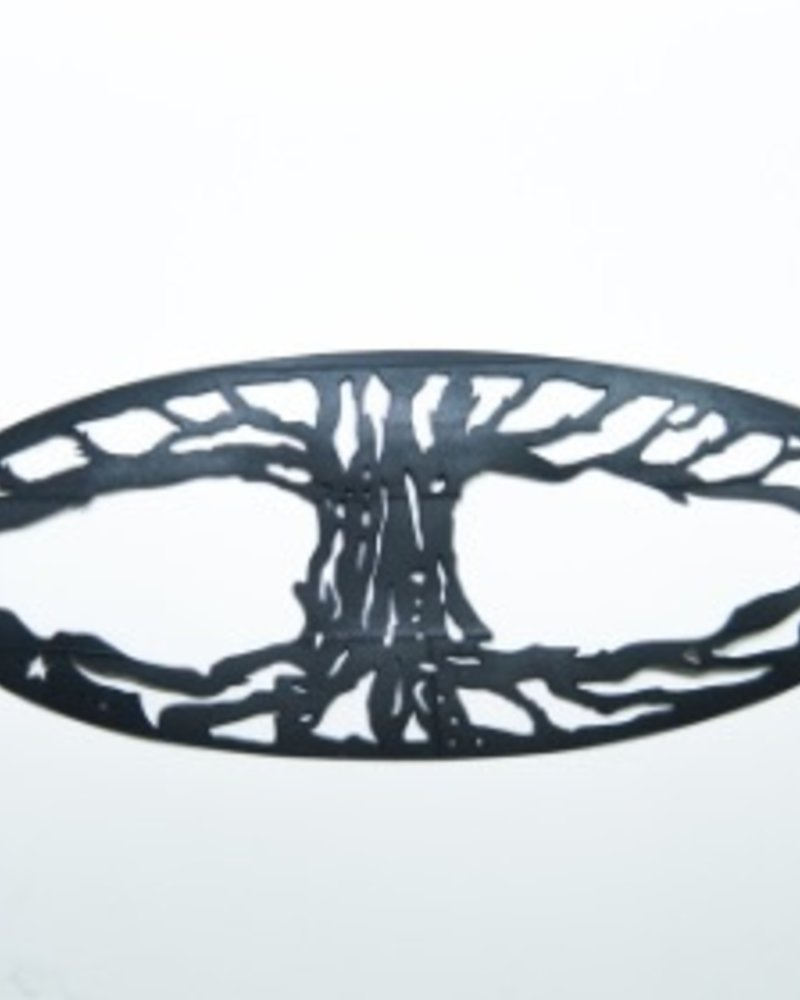 Tree of life rubber bracelet