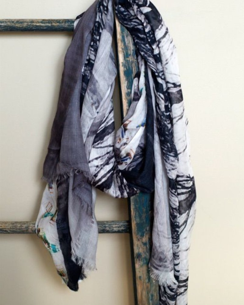 The Naked trees scarf