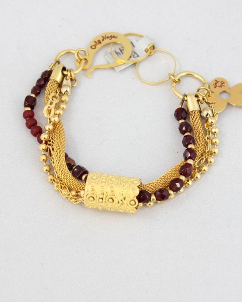 Galgalantic Bracelet , Ruby