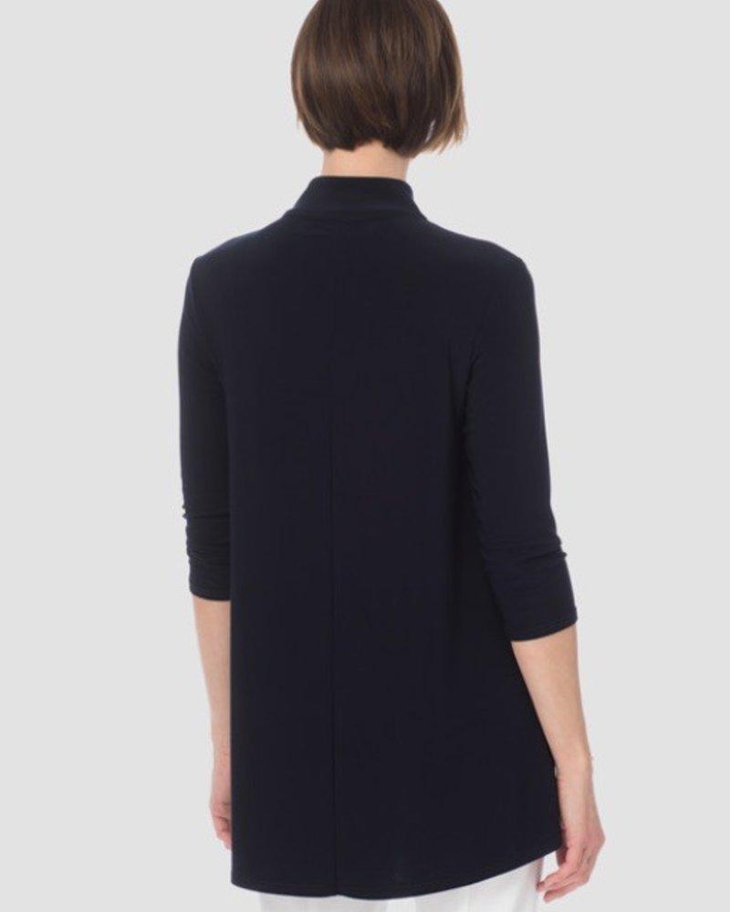 Joseph Ribkoff Three-quarter length sleeves, kerchief hem blouse