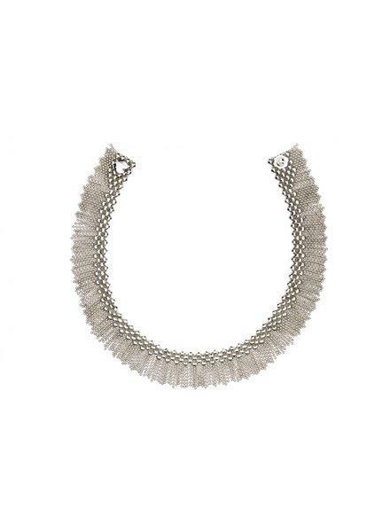 Liquid Metal Liquid Metal fringe necklace