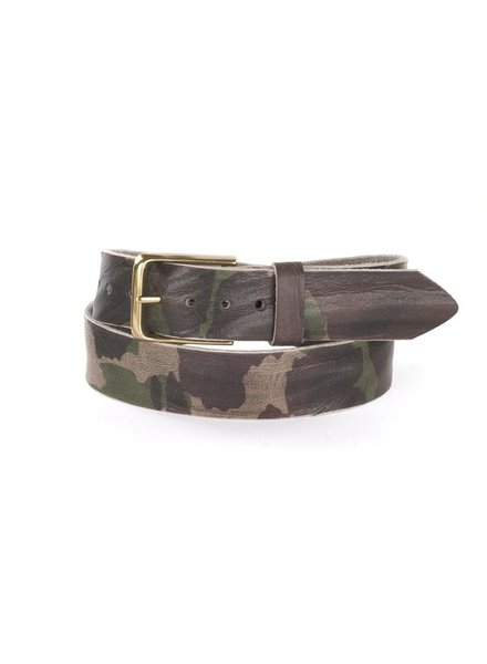 BRAVE Joe Camouflage Leather Belt