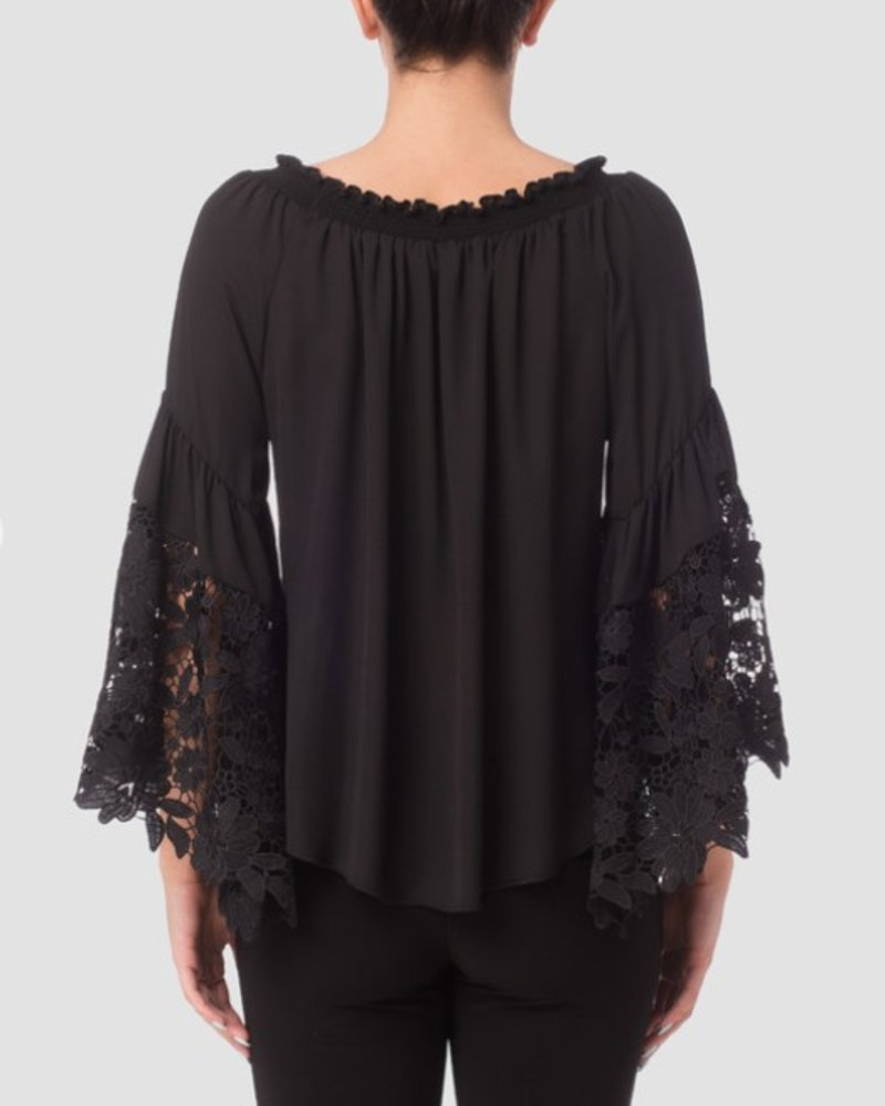 Joseph Ribkoff Bell-Sleeved Off Shoulder Top