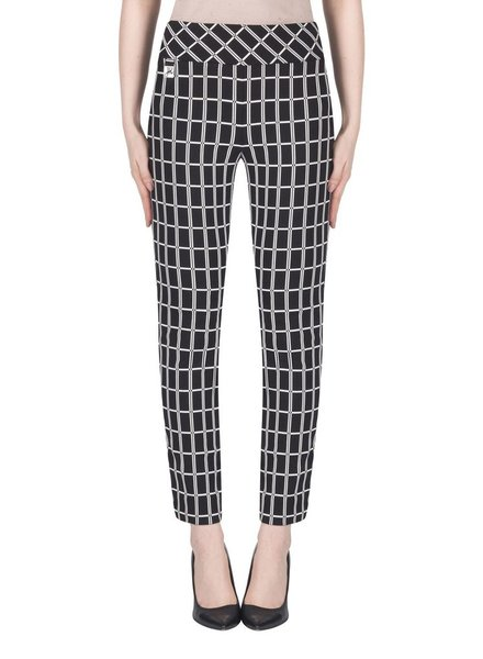 Joseph Ribkoff Rectangular pattern pants