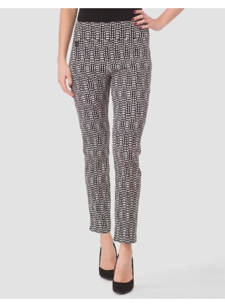 Joseph Ribkoff Color contrasted slip-on pants