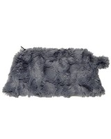 Faux Fur Cosmetic Bag by Pandemonium. Made in the USA