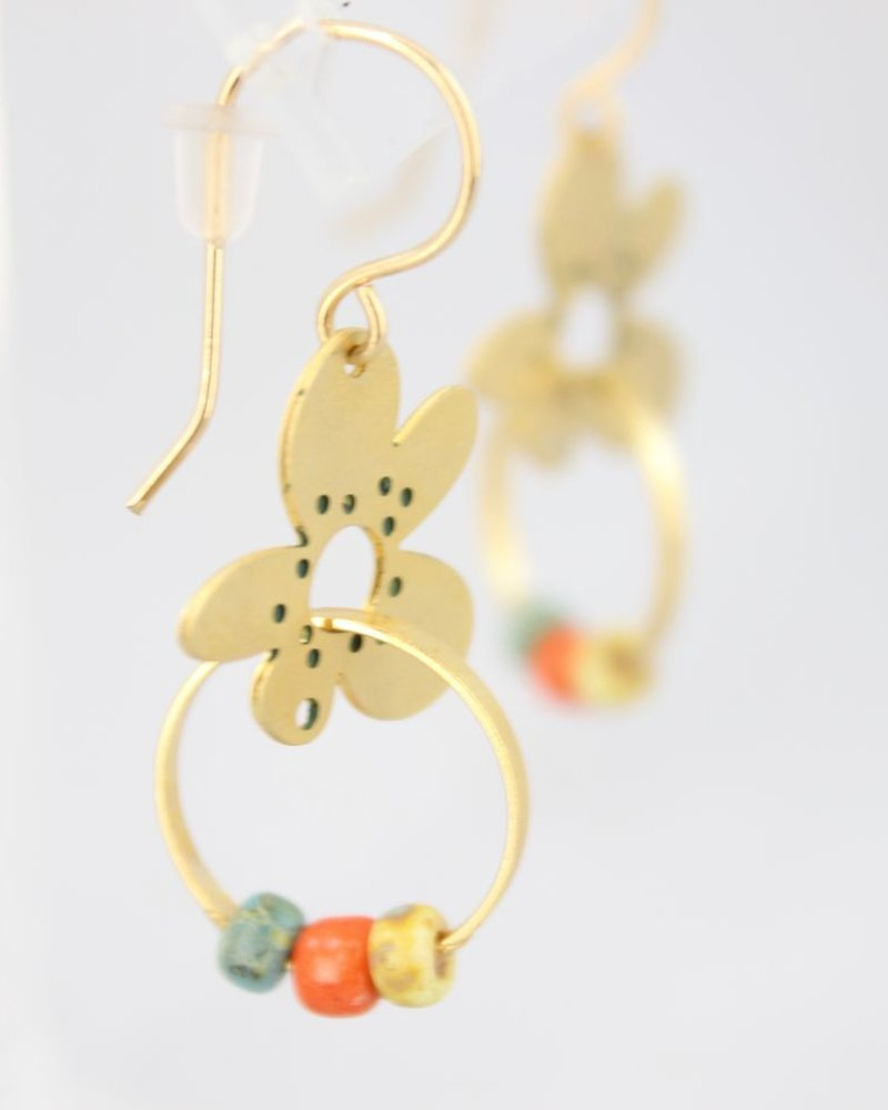 Flower Small Earrings