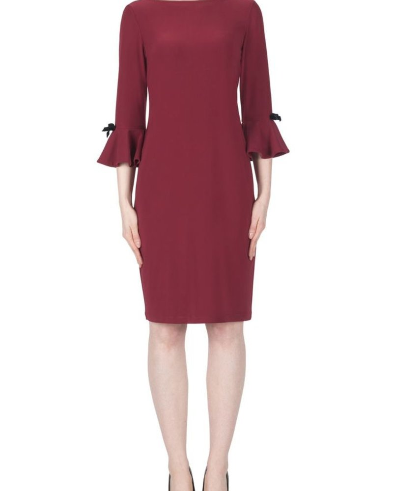 Joseph Ribkoff Bell sleeves fall dress