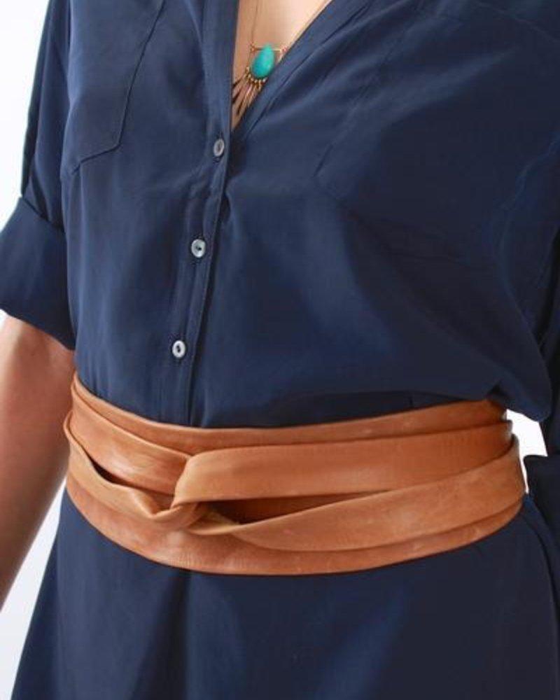 verdigris Wrap belt