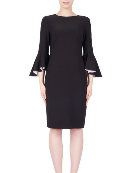 Joseph Ribkoff Color black bell sleeve dress