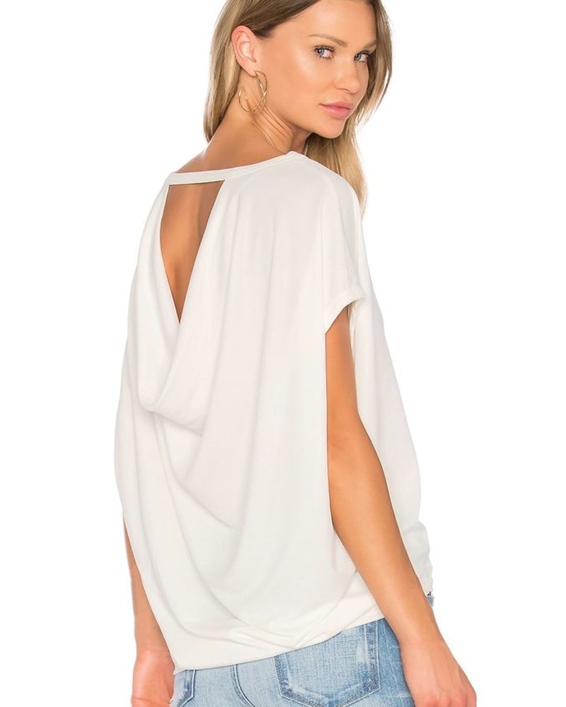 Sen Knit Drape Back Top