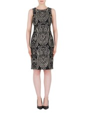 Joseph Ribkoff Embroidered dress