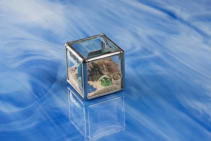 "Rare Earth Gallery Beach Kaleidoscopes (2""Cube)"