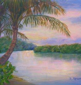 Ruthann Hewson Bessey Creek Sunset (Print, Matted, 11x14)