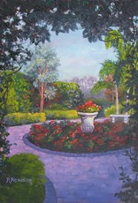 Ruthann Hewson Mrs. Smith's Garden (Print, Matted, 11x14)