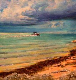 Ruthann Hewson Key Colony Beach (Print, Matted,11x14)