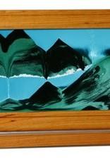 Rare Earth Gallery SUMMER TURQUOISE (Lg, Cherry/Alder)