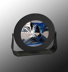 "Rare Earth Gallery ARCTIC GLACIER CLEAR (Rd 7""D, Black Metal)"