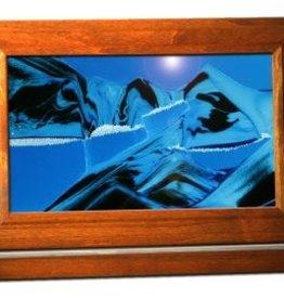 Rare Earth Gallery OCEAN BLUE (Lg, Cherry/Alder)