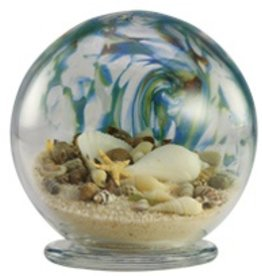 "Rare Earth Gallery Sea Globe (Sm, 3.5""D.)"