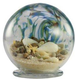 """Rare Earth Gallery Sea Globe (Sm, 3.5""""D.)"""