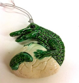 Rare Earth Gallery Alligator w/Eggs (Mini)