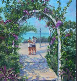 Ruthann Hewson Tropical Retreat (Print, Matted, 11x14)