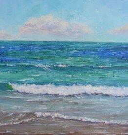 Ruthann Hewson Stuart Beach, (Print, Matted, 11x14)