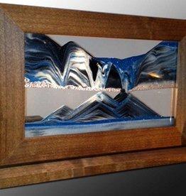 Rare Earth Gallery ARCTIC GLACIER CLEAR (Sm, Cherry/Alder)