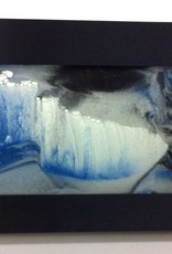 Rare Earth Gallery ARCTIC GLACIER CLEAR (Md, Black Metal)