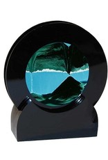 "Rare Earth Gallery SUMMER TURQUOISE (Rd 4""D, Black Plastic)"