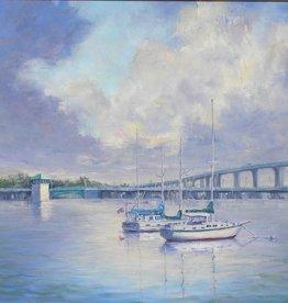 Ruthann Hewson Roosevelt Bridges (Giclee, Framed, 22x28)