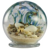 "Rare Earth Gallery Sea Globe (Lg, 6""D.)"