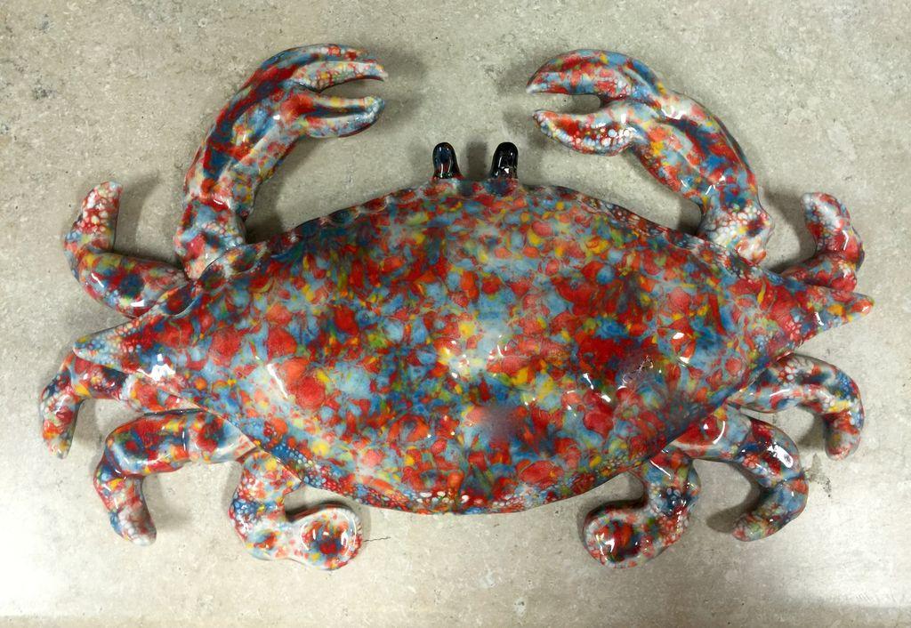 Rare Earth Gallery Crab (XL)