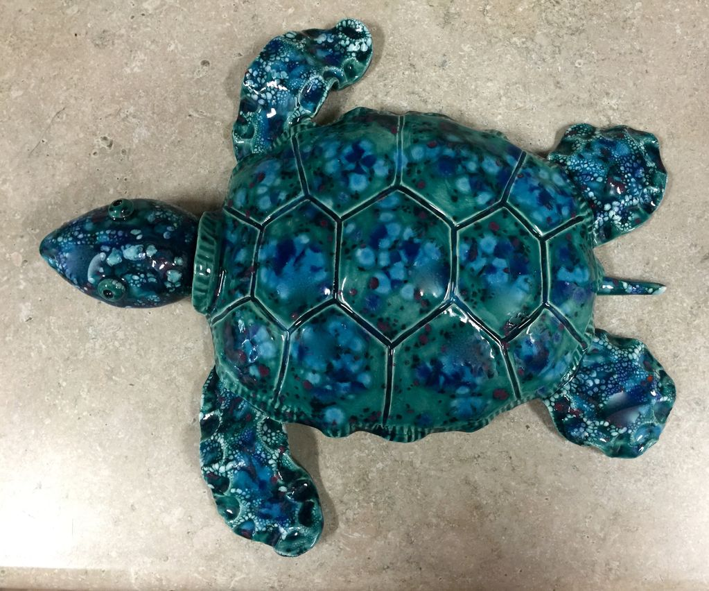 Rare Earth Gallery Turtle (XL)