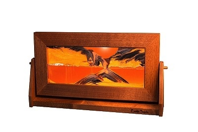 Rare Earth Gallery SUNSET ORANGE (Md, Alder)