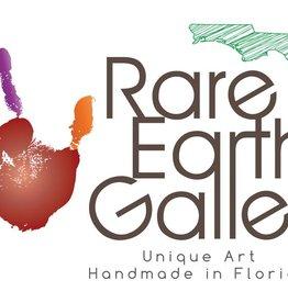Rare Earth Gallery Dish (Sea Grape Leaf, #66)