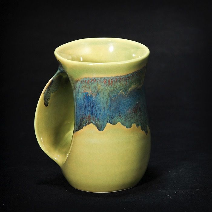 Rare Earth Gallery MUG, LEFT (HANDWARMER, Approx 14 oz)