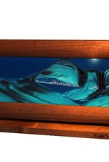 Rare Earth Gallery OCEAN BLUE (Md, Cherry/Alder)