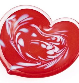"Rare Earth Gallery Affection Heart (Red, 4.5""D.)"