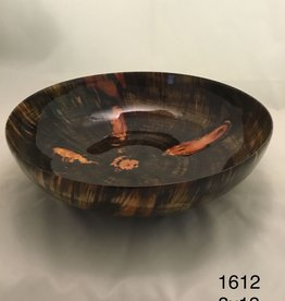 Joe Montagnino Bowl, Norfolk Island Pine (#1612)