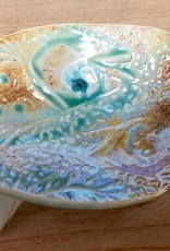 Gail Snively Dish, Soap (Lg, w/Legs, #109)