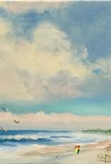 Carol Kepp Summer Breezes (Original Oil, 8 x 10, Signed)