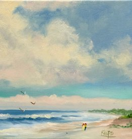 Carol Kepp Summer Breezes (Original Oil, 8 x 10, Signed)