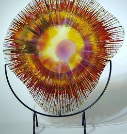 Rare Earth Gallery Sun Spot EnergyWeb w/Stand