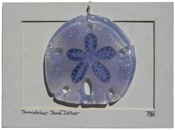 "Rare Earth Gallery Sand Dollar (Suncatcher, 4""D.)"