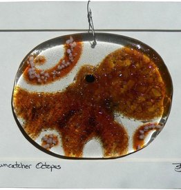 "Rare Earth Gallery Octopus (Suncatcher, 4.5""x3.5"")"