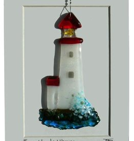 "Rare Earth Gallery Lighthouse (Suncatcher, 5""x3"")"